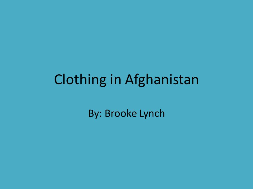 Material Cotton and wool are the two main materials that are used in making afghan clothing.