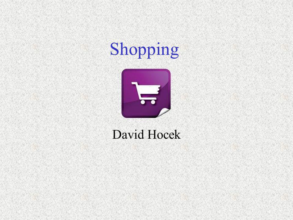 Shopping David Hocek