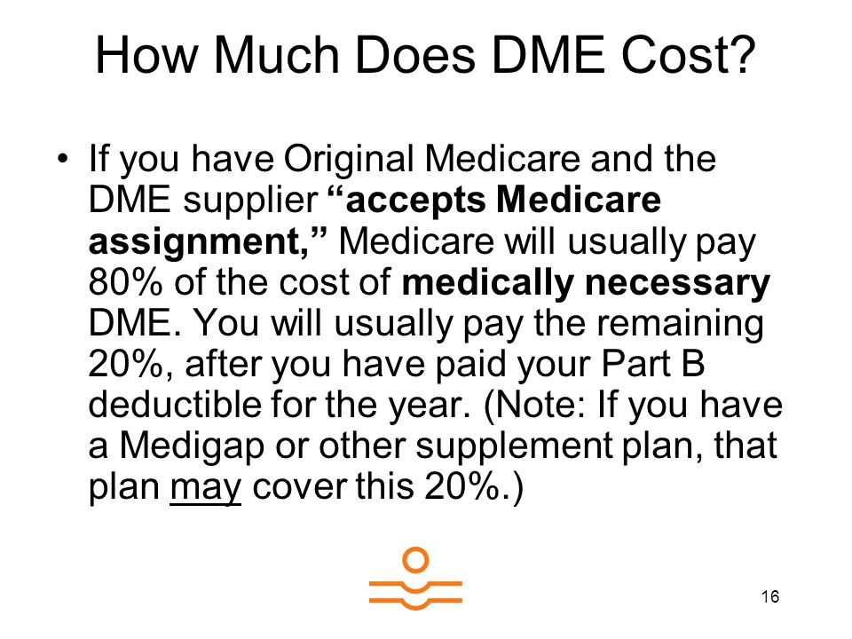 16 How Much Does DME Cost.