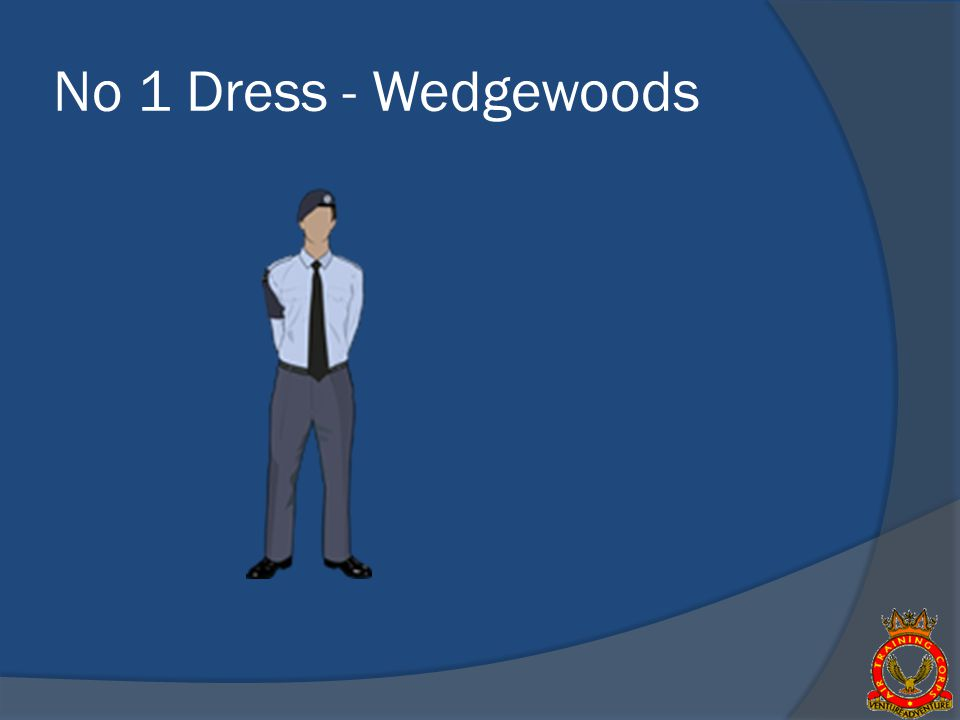 No 1 Dress - Wedgewoods