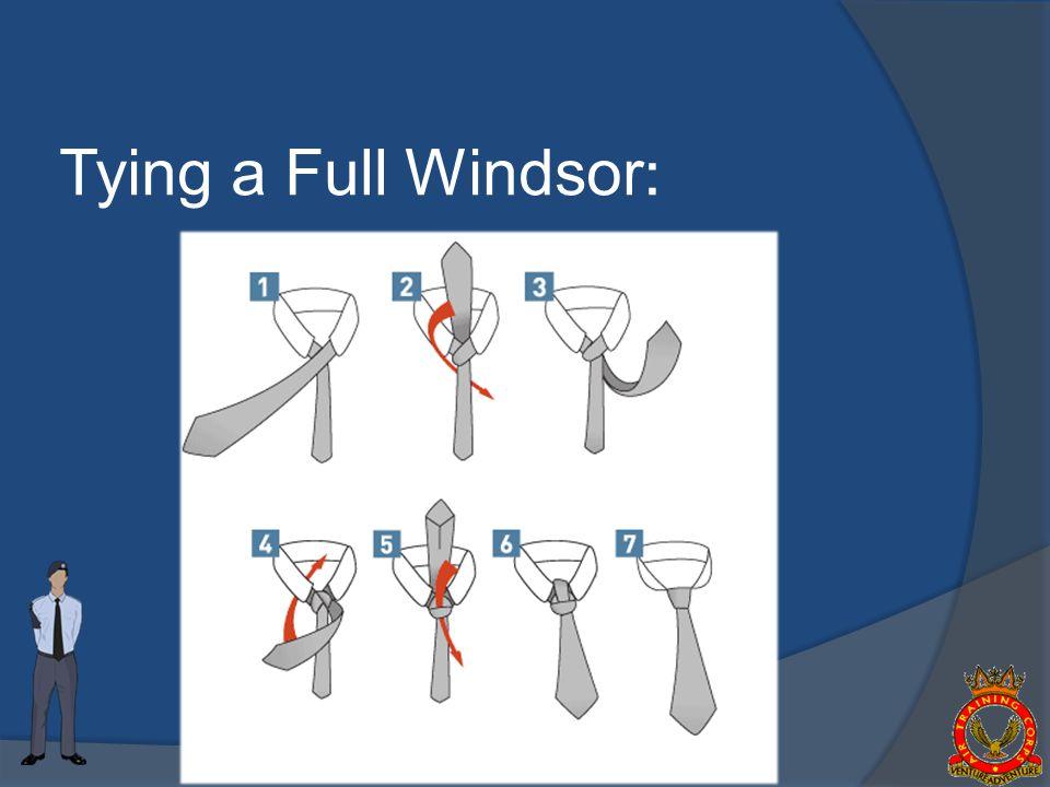 Tying a Full Windsor :