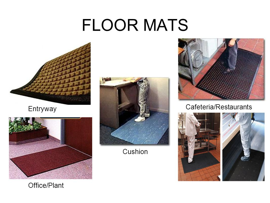 FLOOR MATS Entryway Office/Plant Cafeteria/Restaurants Cushion