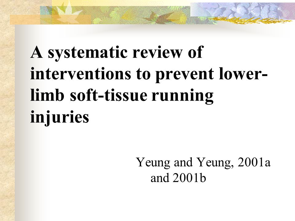 ASSESSING THE EFFECTIVENESS OF INTERVENTION