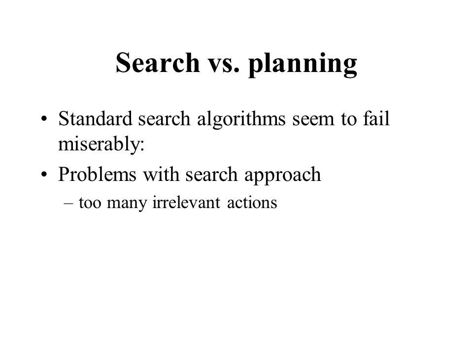 Search vs.