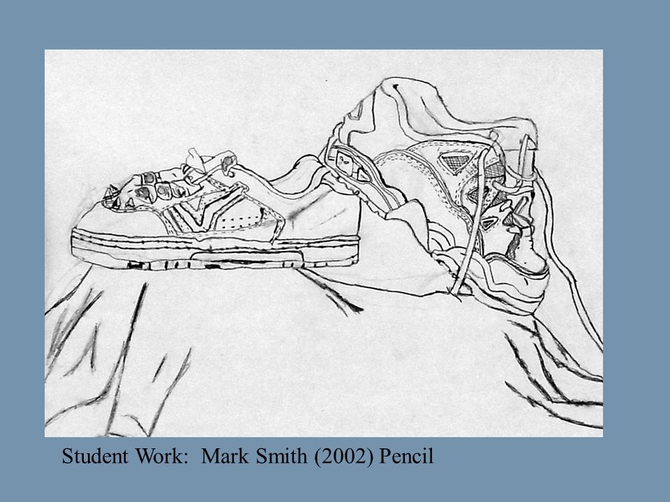 Student Work: Mark Smith (2002) Pencil