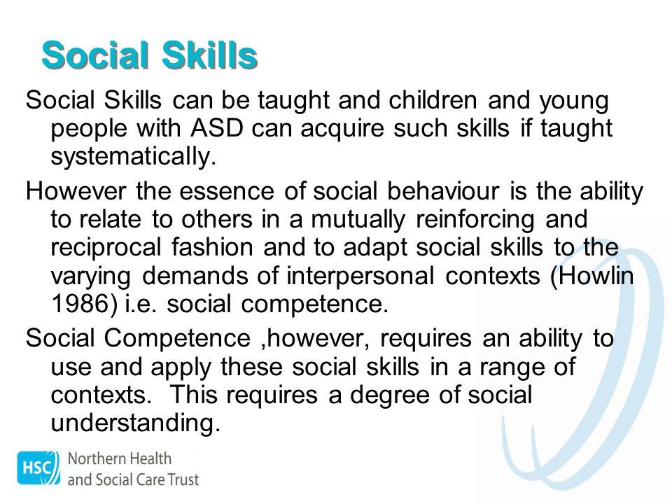 Social Understanding Carol Gray (1998) defines social understanding as – an understanding of the underlying, hidden messages that underpin social interaction – a hidden code.