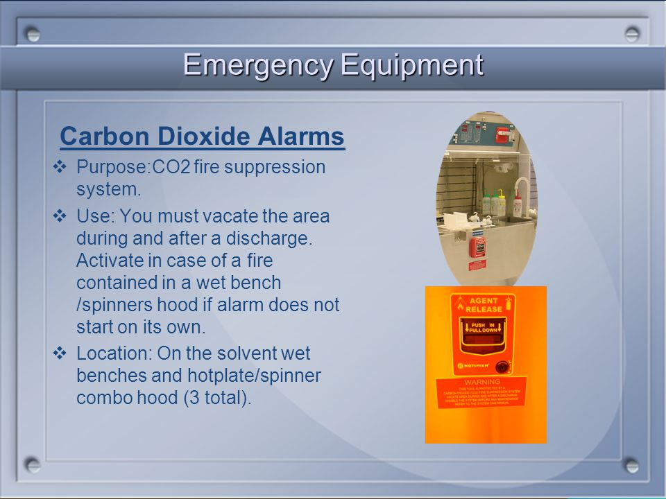 HAZMAT Alarms Purpose: Toxic Gas Monitoring System Alarm. Will detect a hazardous concentration of a gas or leak. Lift cover and push if an emergency