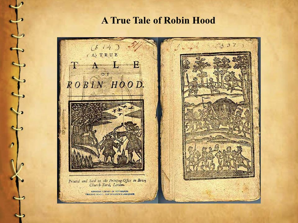 A True Tale of Robin Hood