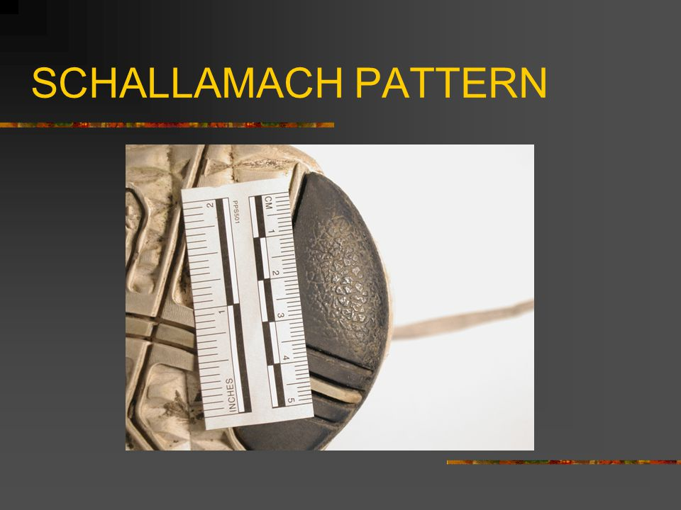 SCHALLAMACH PATTERN