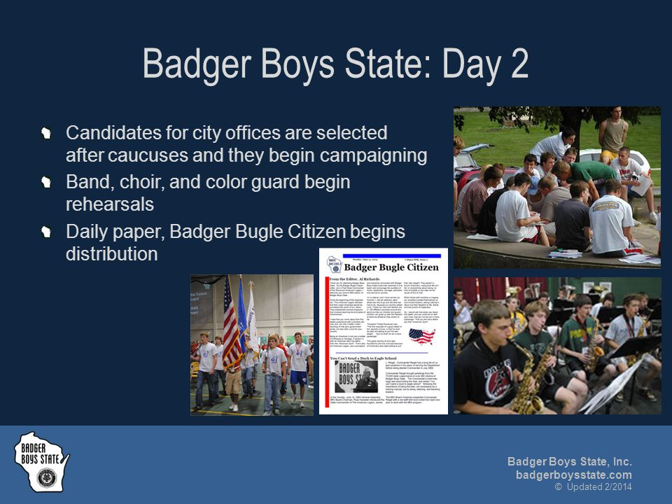Badger Boys State, Inc.
