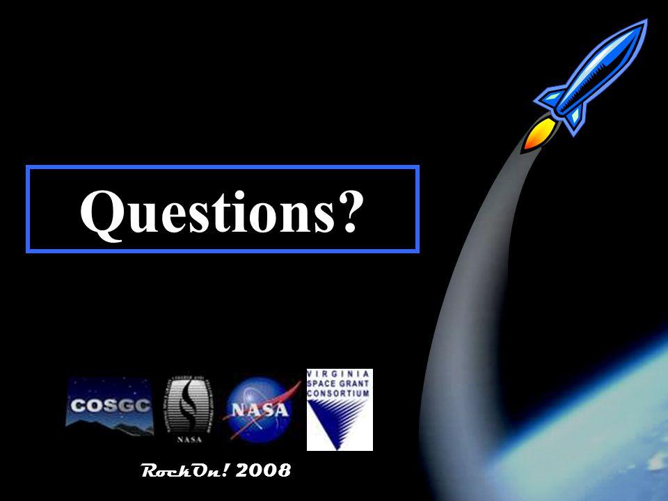 RockOn! 2008 74 RockOn! 2008 Questions