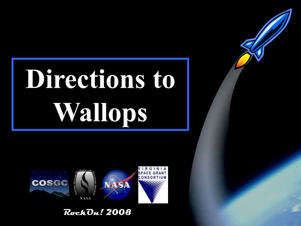 RockOn! Directions to Wallops RockOn! 2008