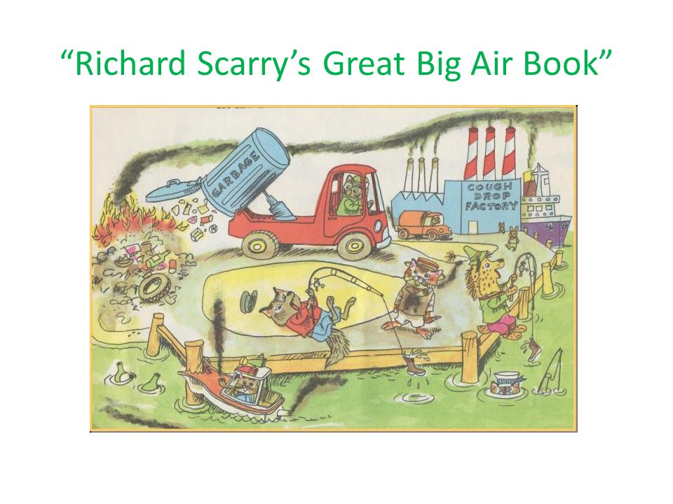 Richard Scarrys Great Big Air Book