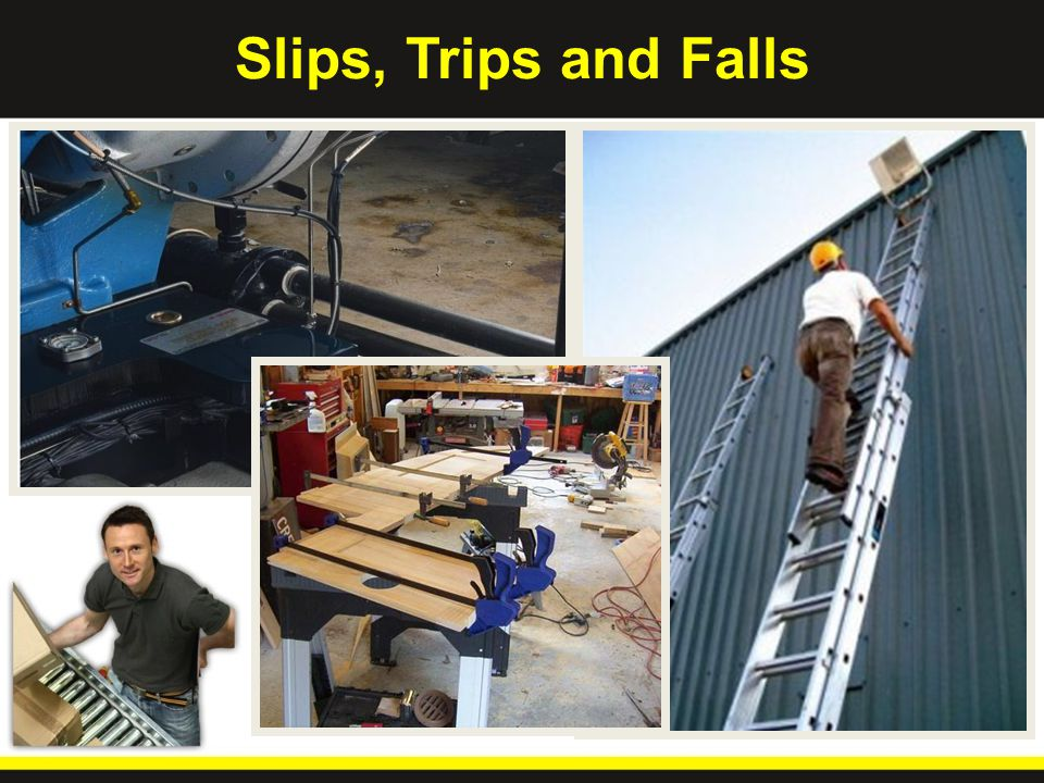 It Happens More - and Costs More- Than You Might Think In 2011, Slips/Falls was one of the leading causes of workplace injury, and accounted for 26% of all claims filed by MARO Workers Comp.