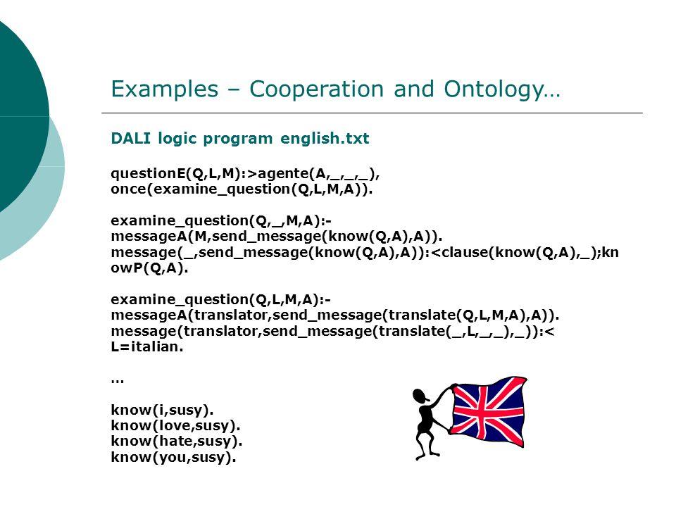 DALI logic program english.txt questionE(Q,L,M):>agente(A,_,_,_), once(examine_question(Q,L,M,A)).