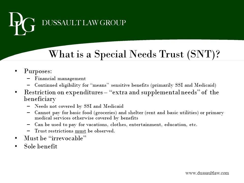Scope of Guardianship PersonEstate Full Limited www.dussaultlaw.com