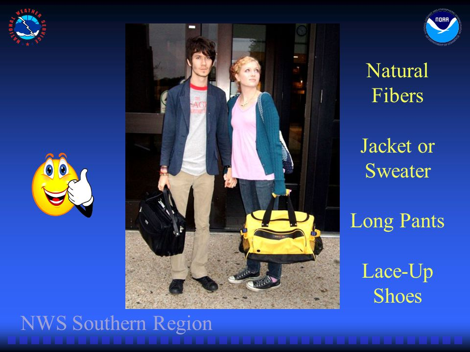 NWS Southern Region Natural Fibers Jacket or Sweater Long Pants Lace-Up Shoes