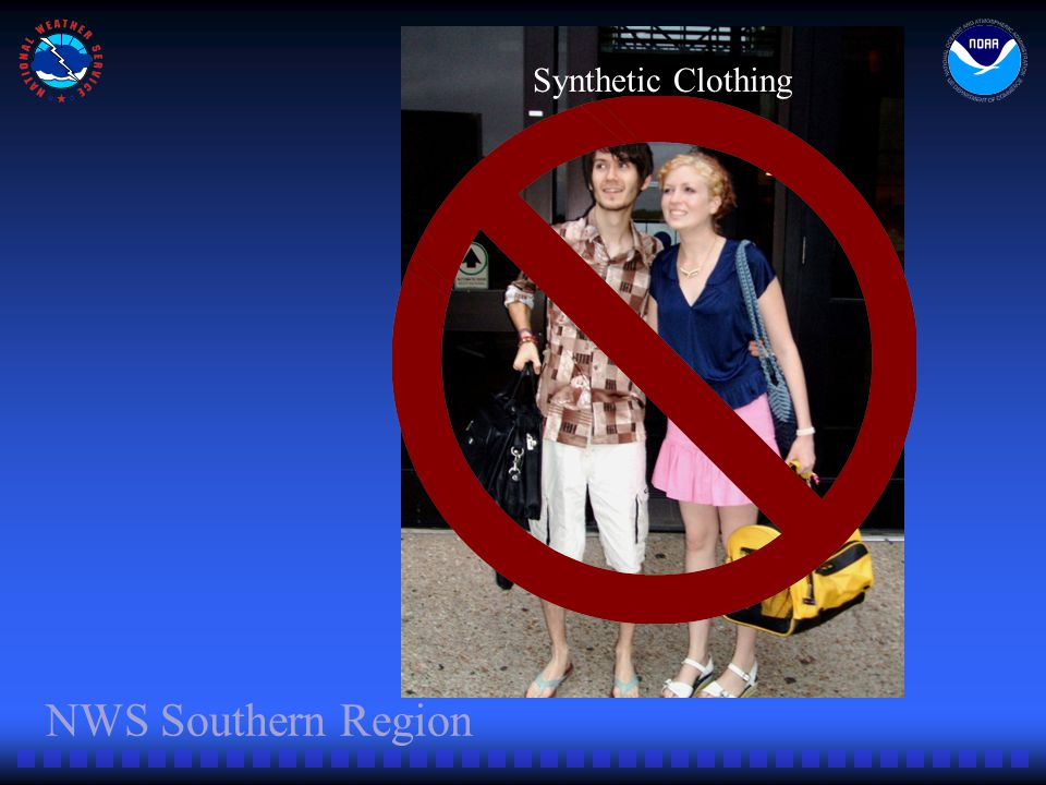 NWS Southern Region Synthetic Clothing