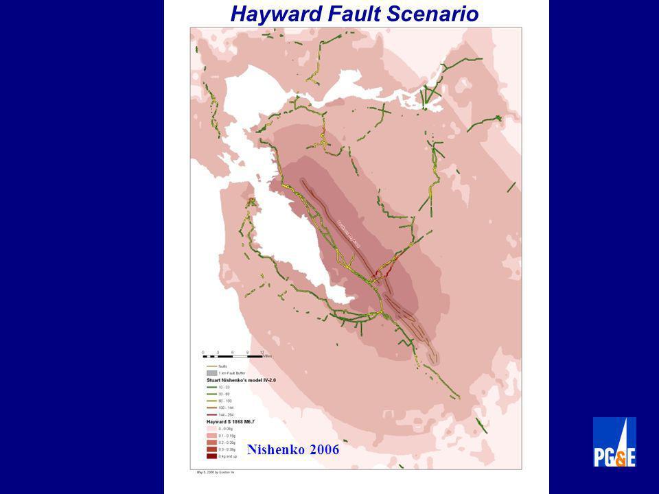 Nishenko 2006 Hayward Fault Scenario