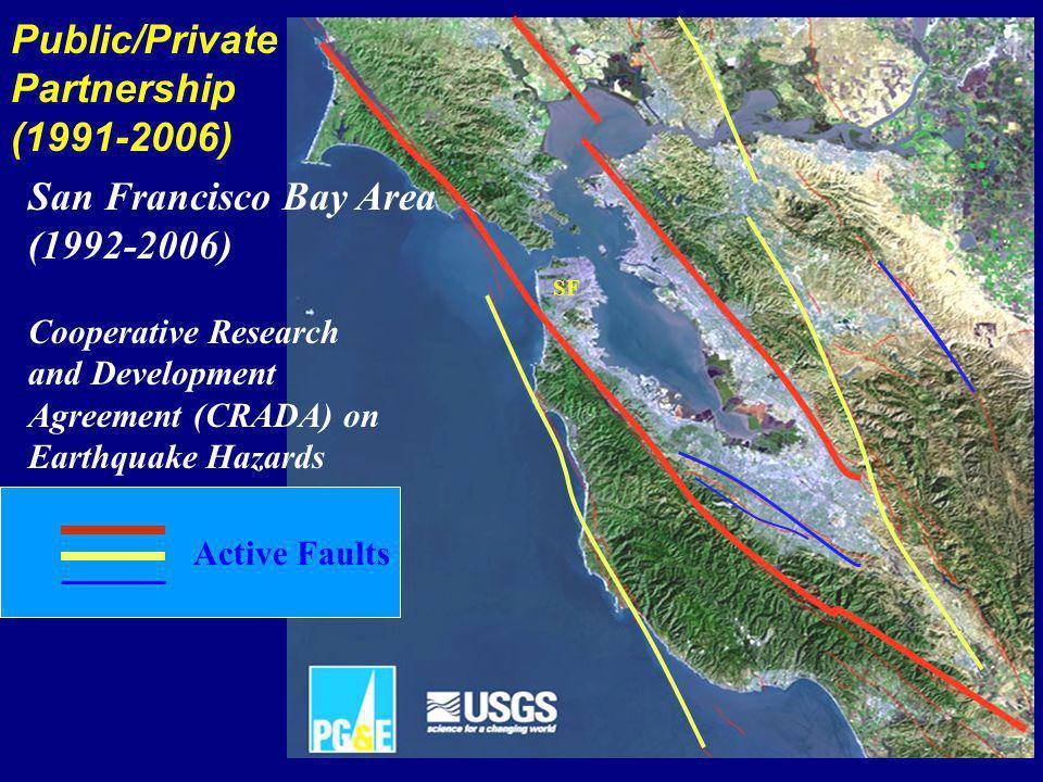 Monterey Bay San Francisco Sacramento Active faults All PG&E Facilities