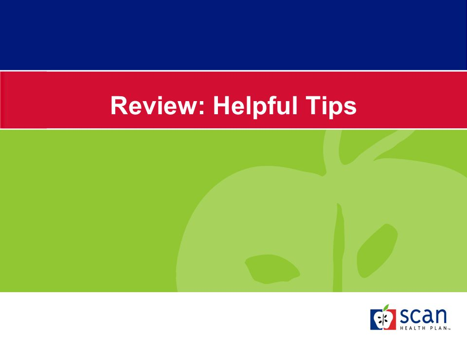 Review: Helpful Tips