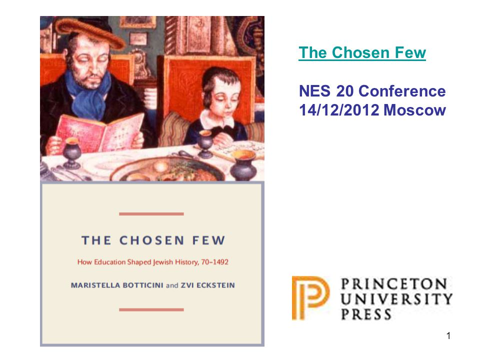 1 The Chosen Few NES 20 Conference 14/12/2012 Moscow