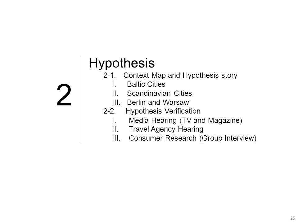 25 2 Hypothesis 2-1.
