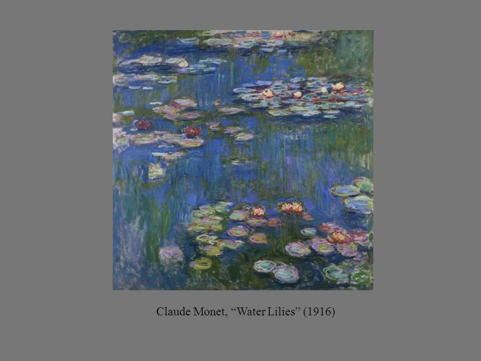 Claude Monet, Water Lilies (1916)