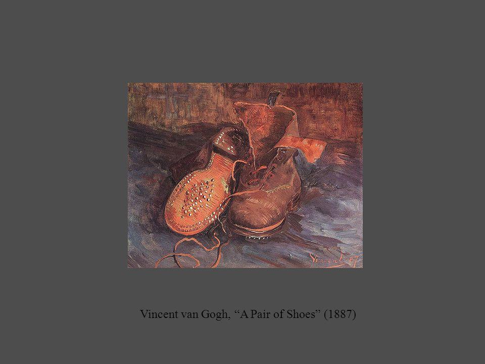 Vincent van Gogh, A Pair of Shoes (1887)