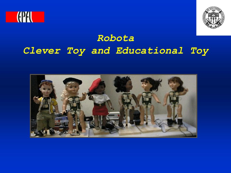 Robota Clever Toy and Educational Toy