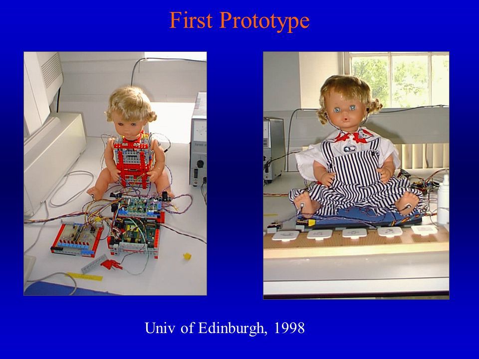 First Prototype Univ of Edinburgh, 1998