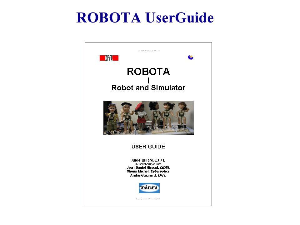 ROBOTA UserGuide