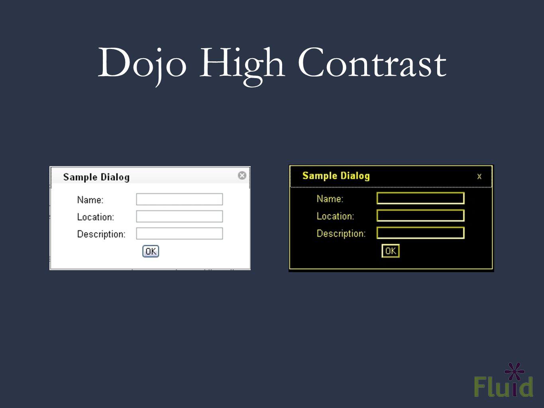 Dojo High Contrast