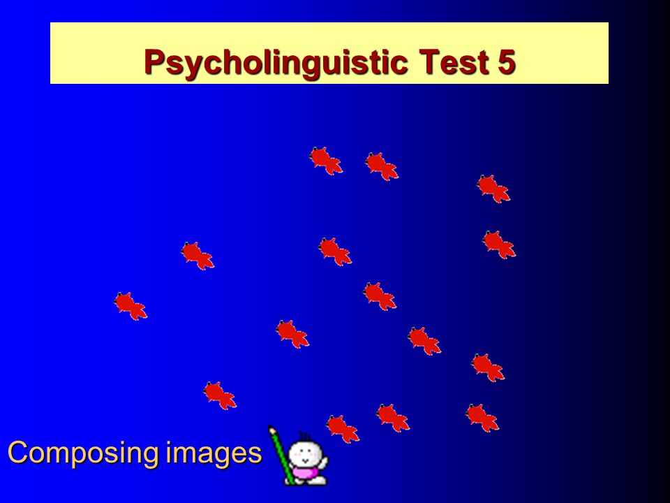 Psycholinguistic Test 5 Composing images