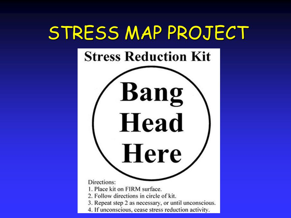 STRESS MAP PROJECT