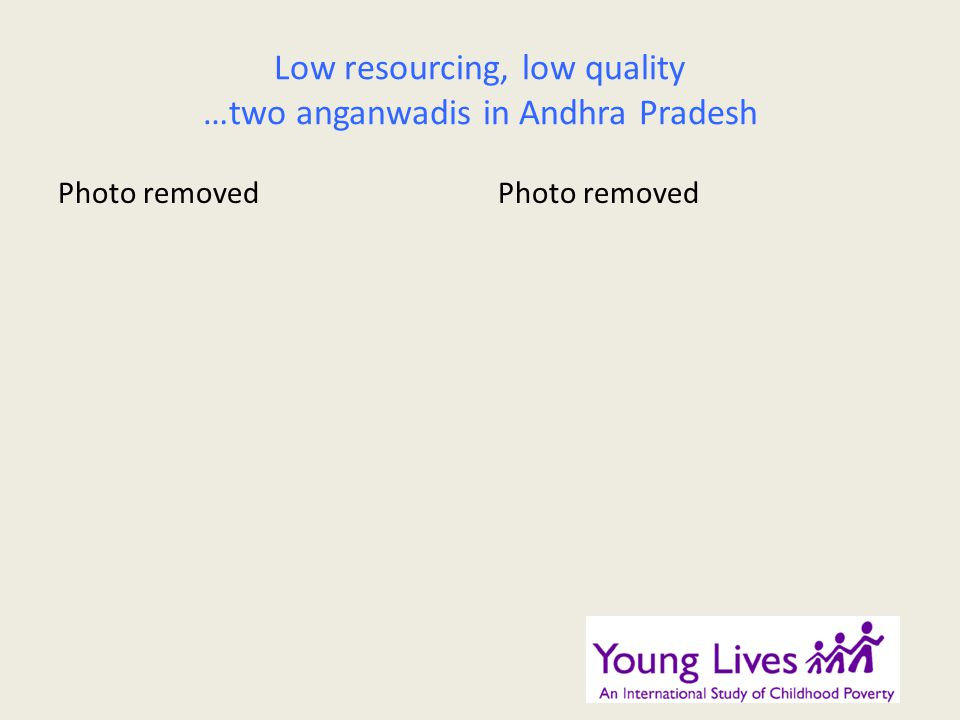 Low resourcing, low quality …two anganwadis in Andhra Pradesh Photo removed