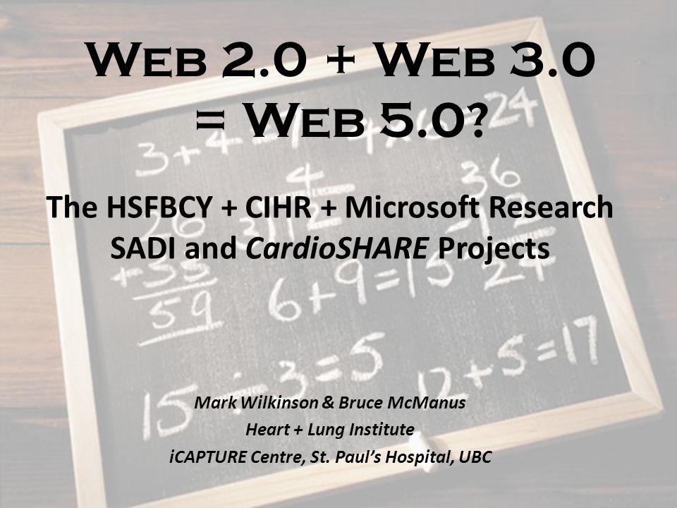Web 2.0 + Web 3.0 = Web 5.0.