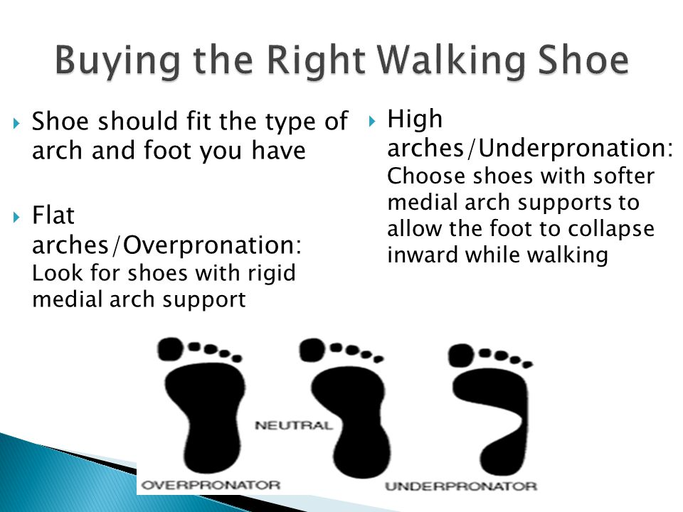 Certain specialty stores have trained staff that can help you assess your foot type and direct you to the proper shoe Offn Running 2201 Joan Avenue, Greensboro (336) 288-7071 9 th Street Active Feet 725 Iredell Street, Durham (919) 286-5101