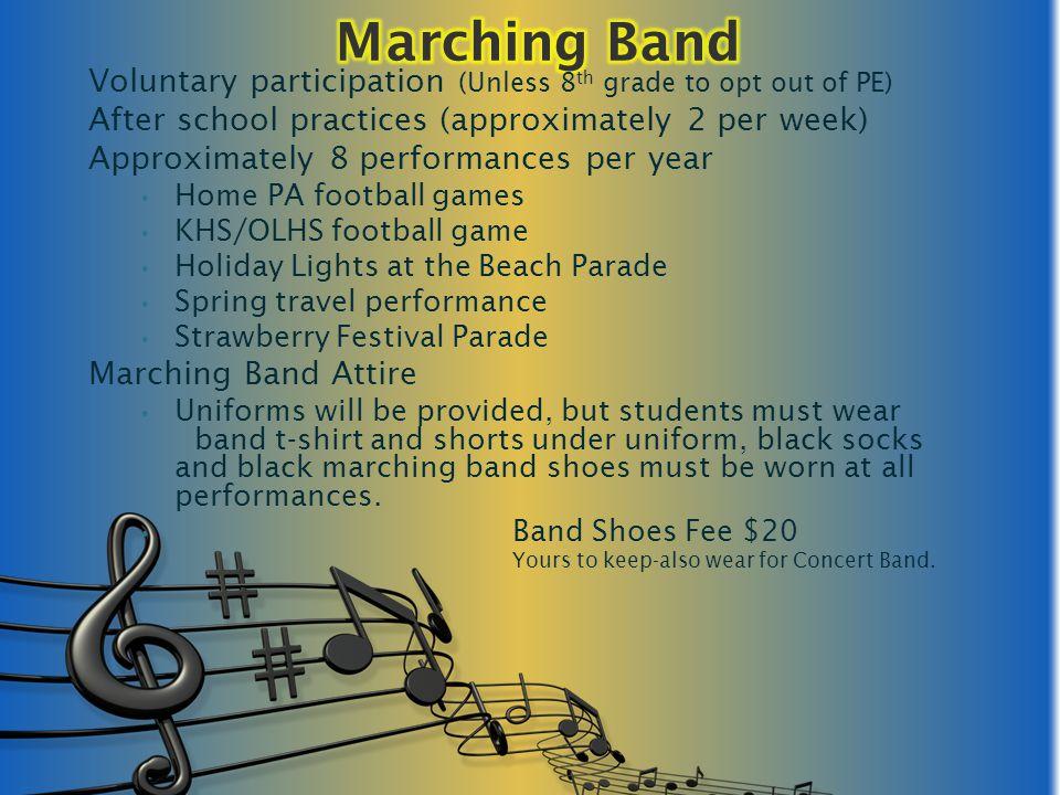 Band Essay Music Student Scholarship Essay Contest through SBO magazine.