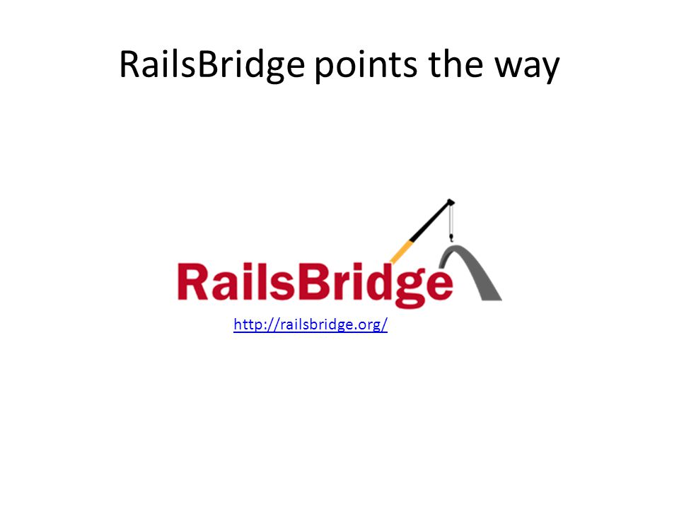 RailsBridge points the way http://railsbridge.org/
