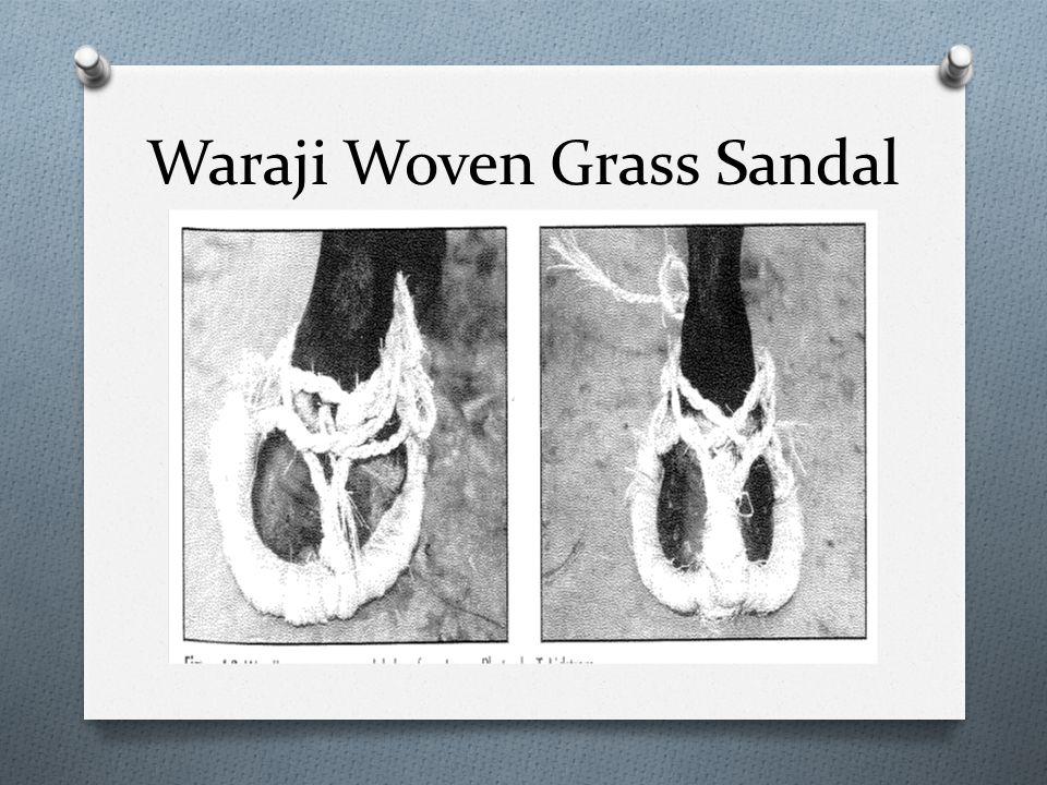 Waraji Woven Grass Sandal