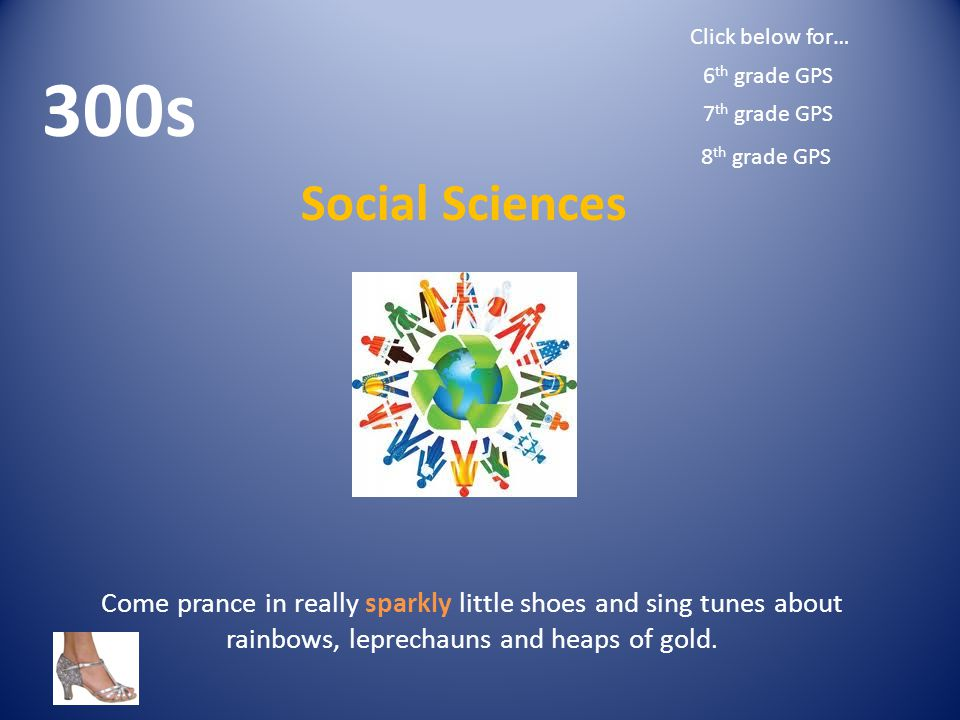 Come prance in really sparkly little shoes and sing tunes about rainbows, leprechauns and heaps of gold.