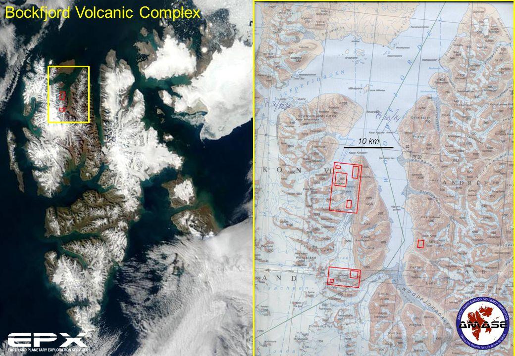 Bockfjord Volcanic Complex 10 km