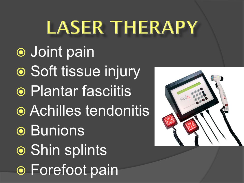 Joint pain Soft tissue injury Plantar fasciitis Achilles tendonitis Bunions Shin splints Forefoot pain