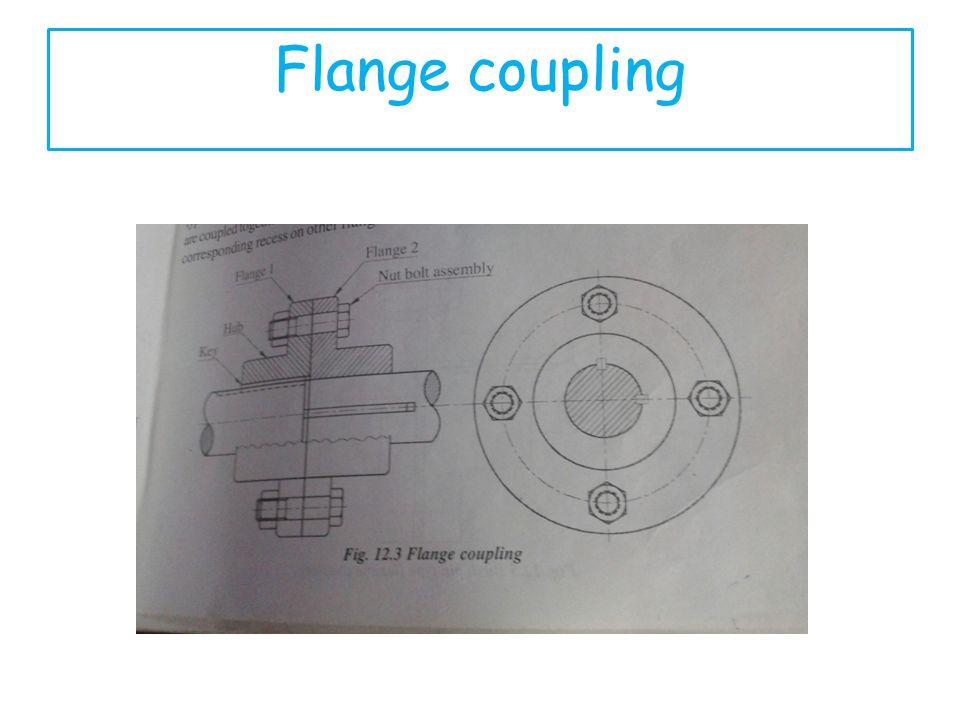 Flange coupling