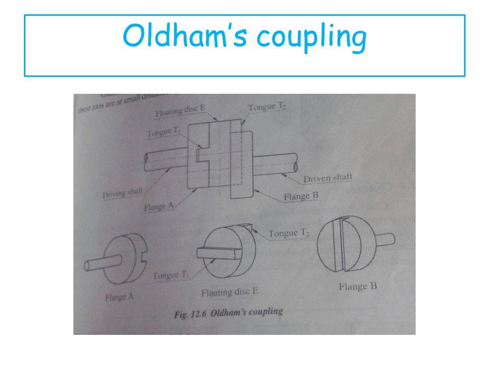 Oldhams coupling