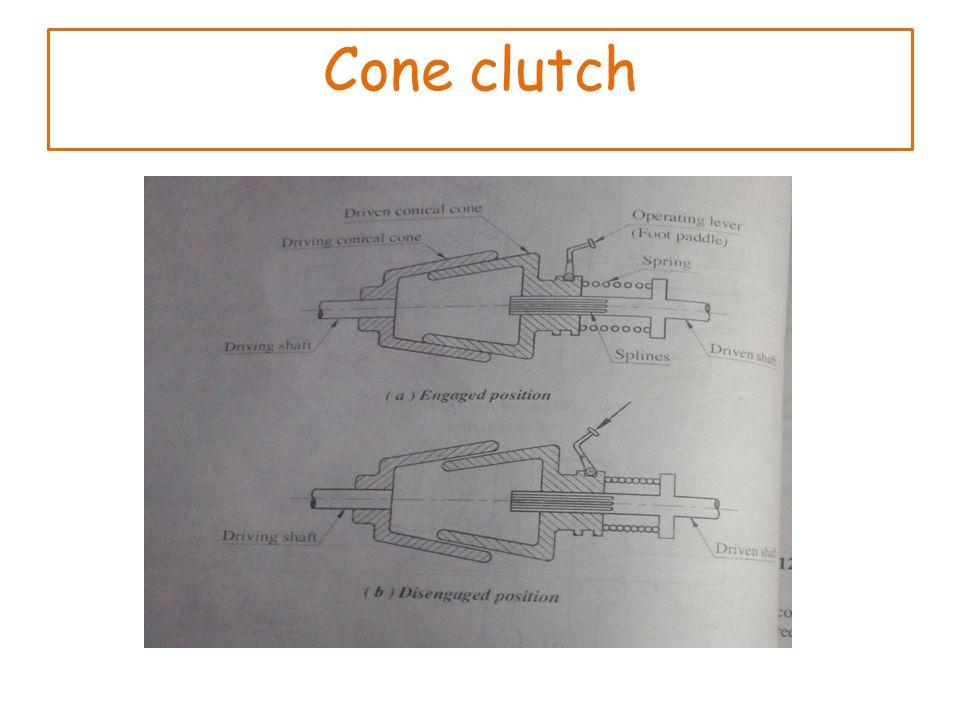Cone clutch