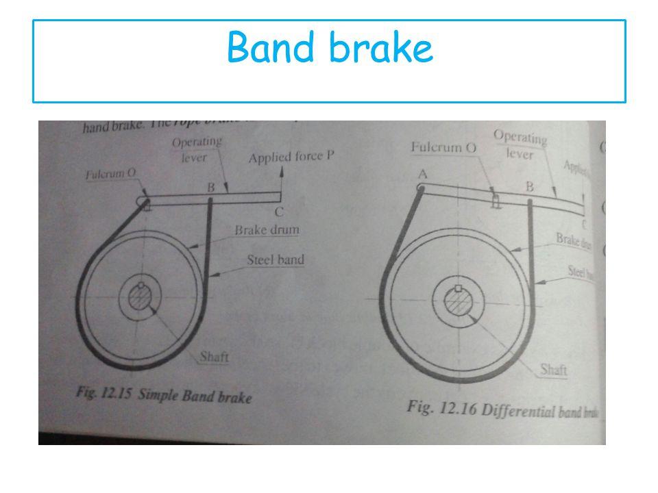 Band brake