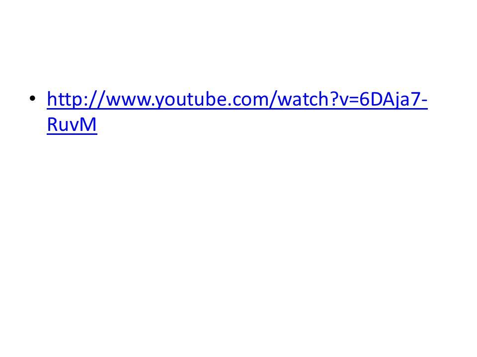 http://www.youtube.com/watch?v=6DAja7- RuvM http://www.youtube.com/watch?v=6DAja7- RuvM