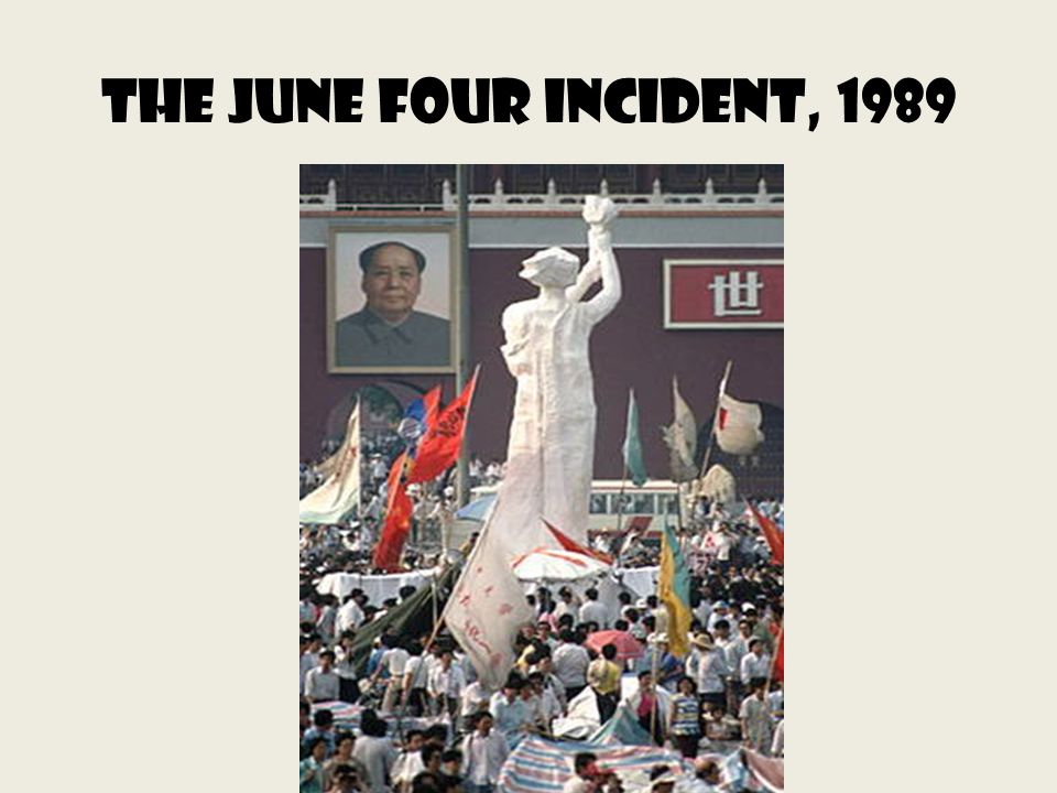 The June Four Incident, 1989